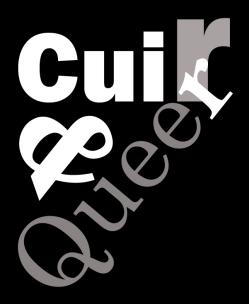 Cuir et Queer logo fond foncé copie